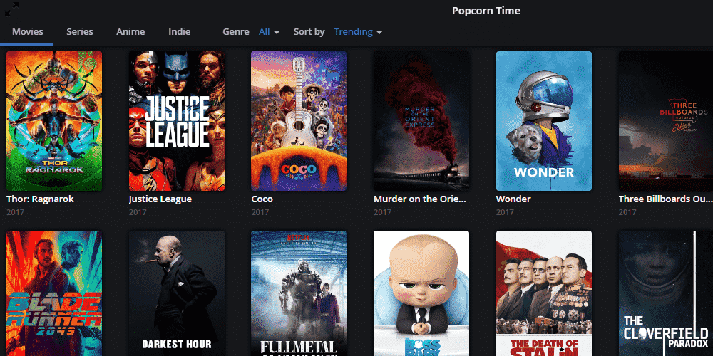 Popcorn Time Guide For Windows