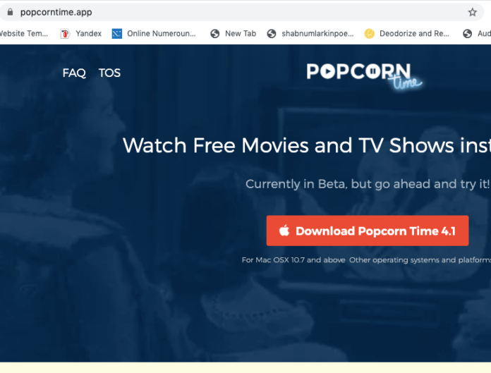 Popcorn Time official Site