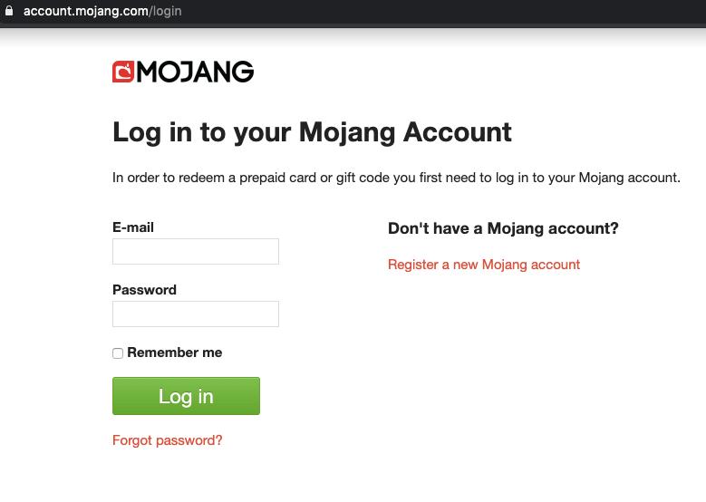 Minecraft Majong Account