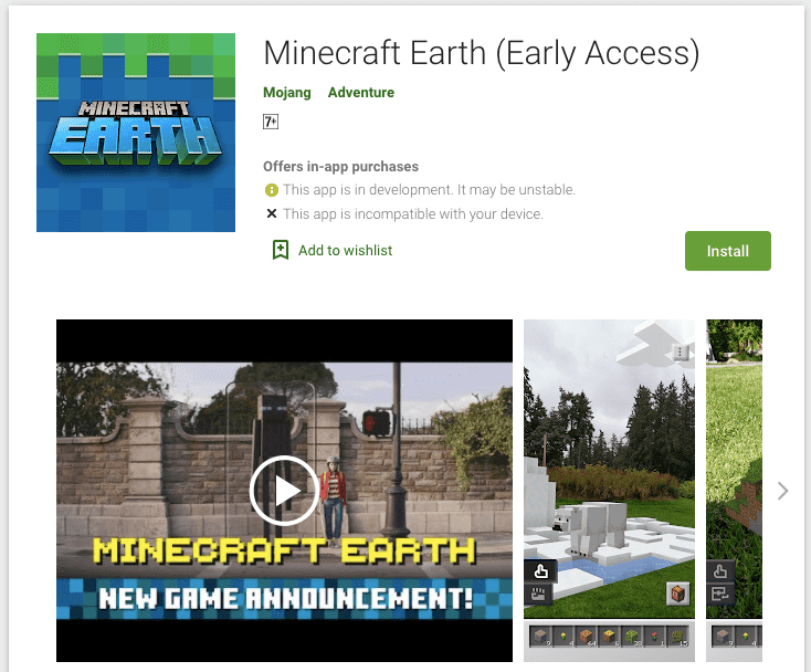 How to get Minecraft Earth on Android?