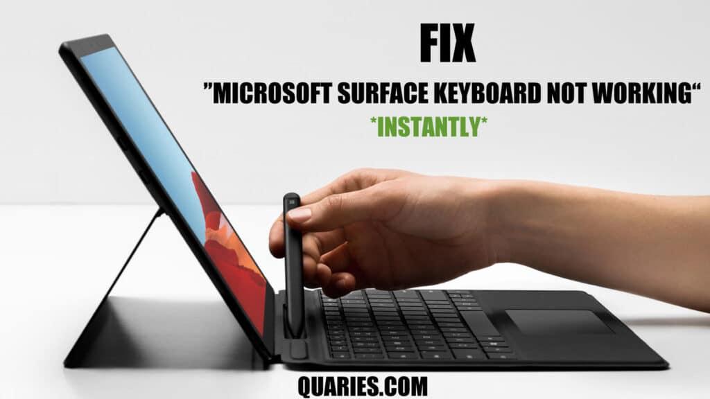 Fix surface keyboard not working