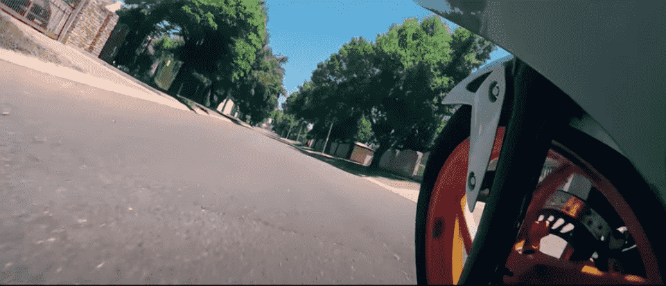 Motorcycle Side Mount