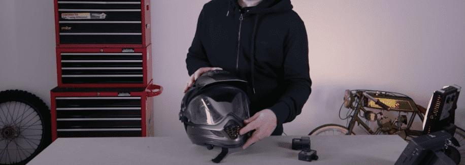 Helmet Chin Mount