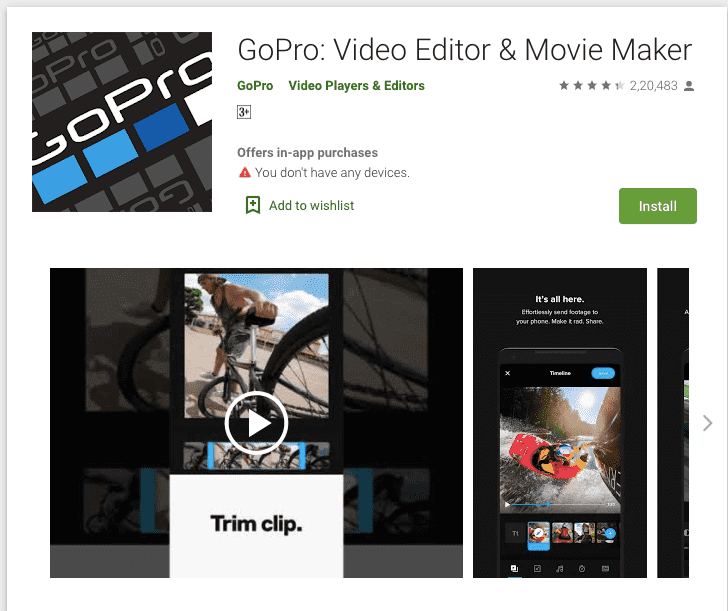 Gopro App To Find The Perfect Angle Or Frame