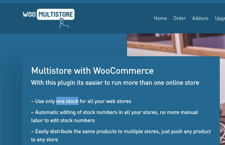 WooCommerce Multistore With Woomultistore