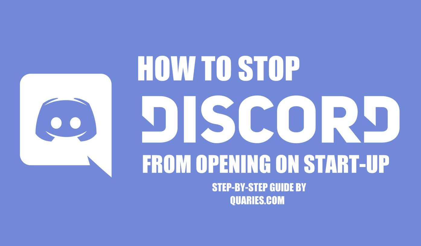 Disable Discord on Windows Startup