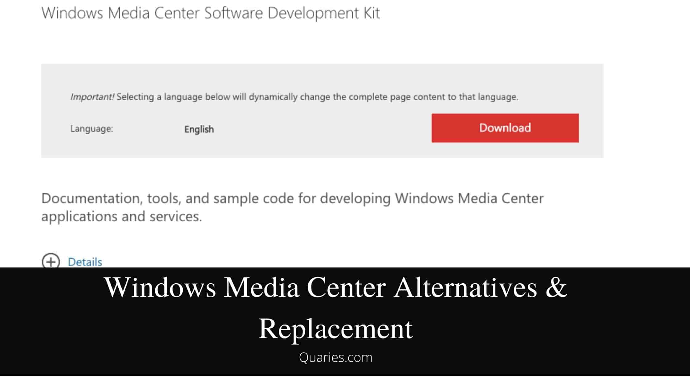 Windows Media Center Alternatives