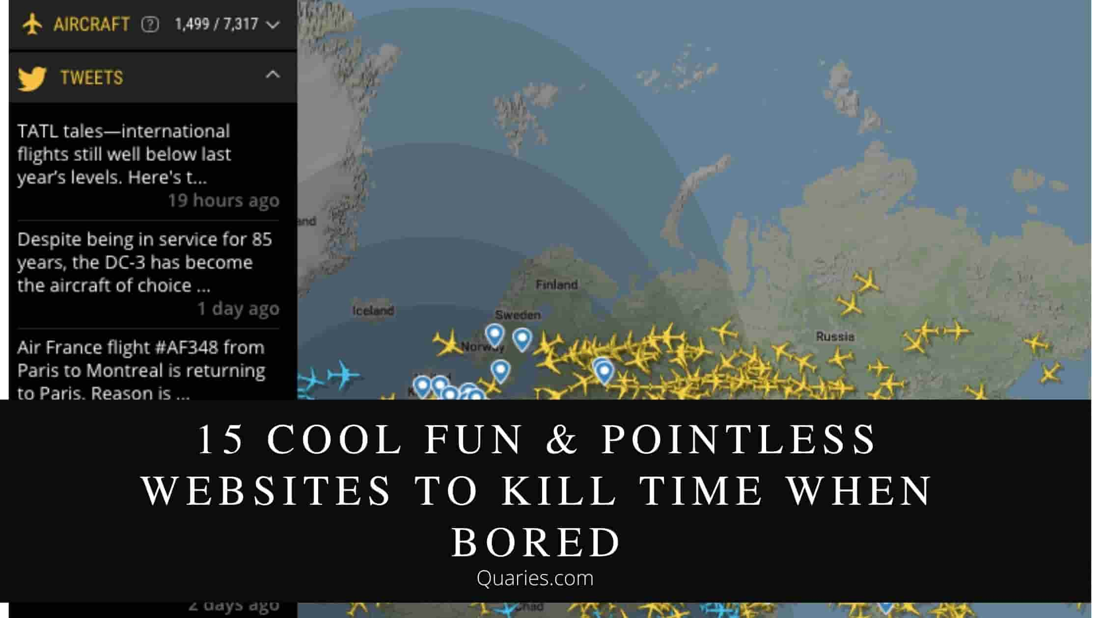 Cool Fun & Pointless Websites