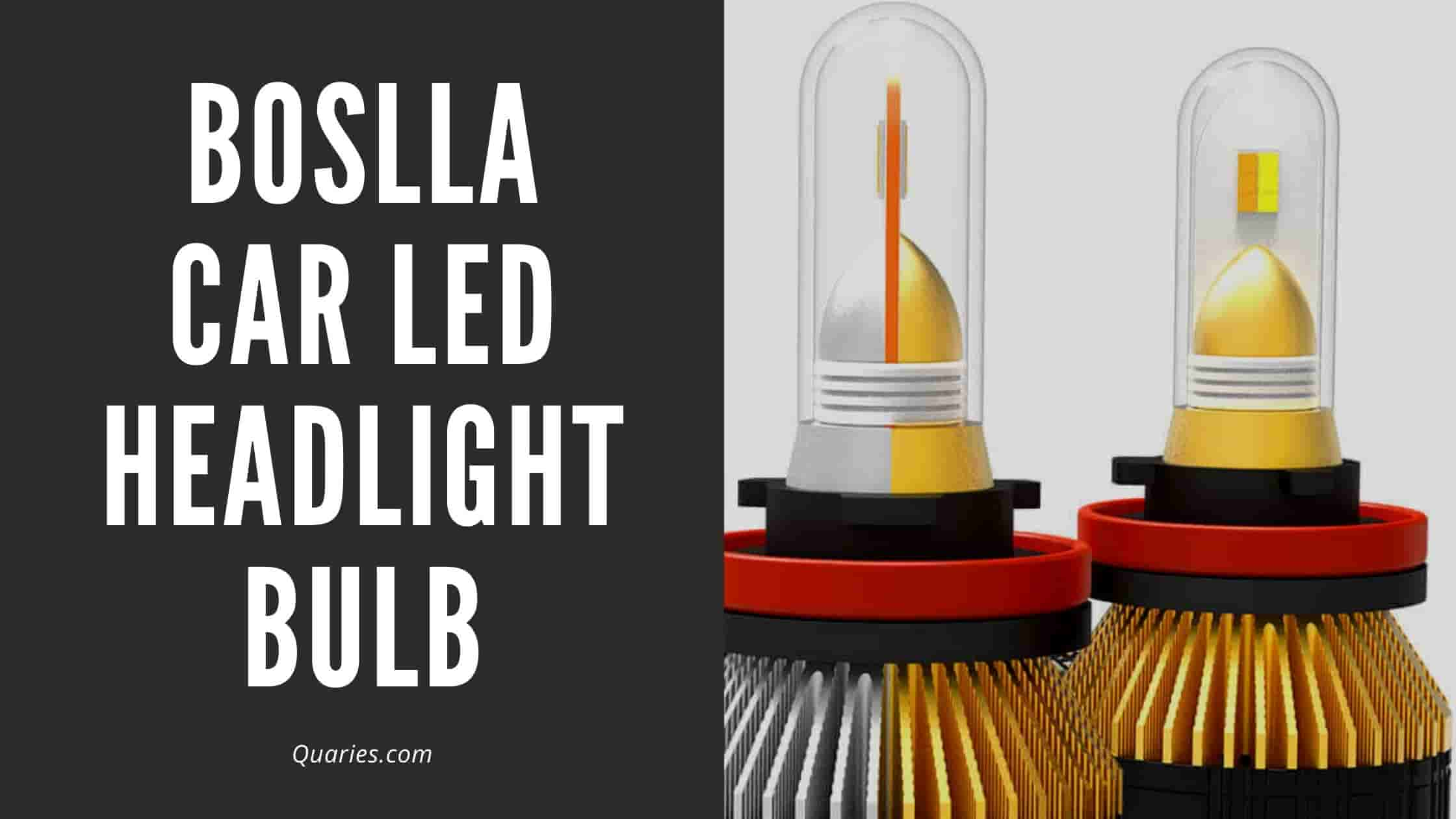 Boslla Car LED Headlight Bulb