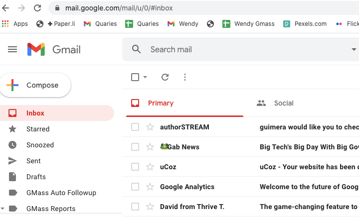 Activate Dark Mode In Gmail