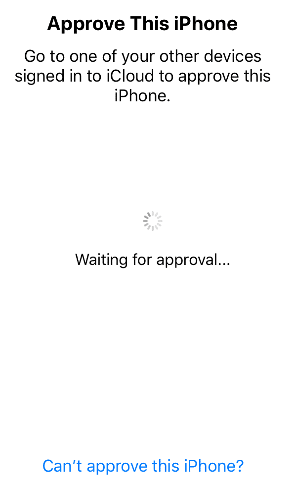 how to approve iphone