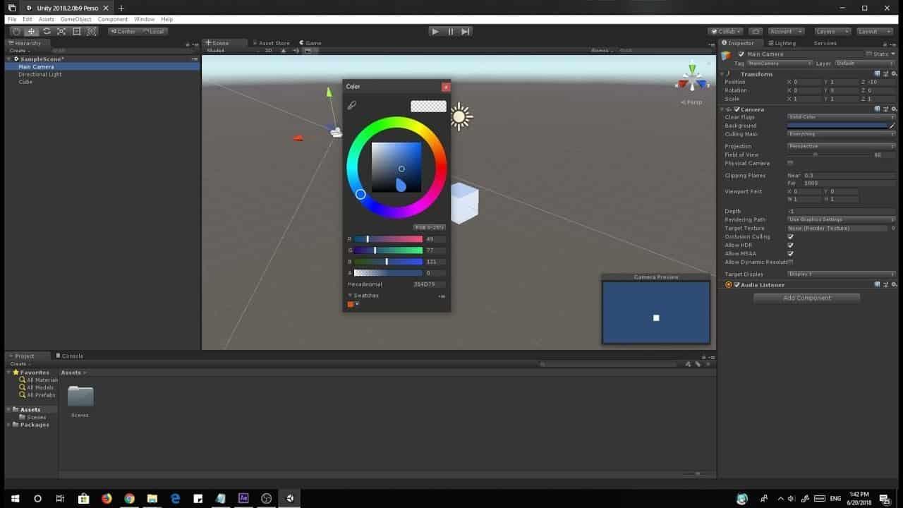 Unity Dark Mode
