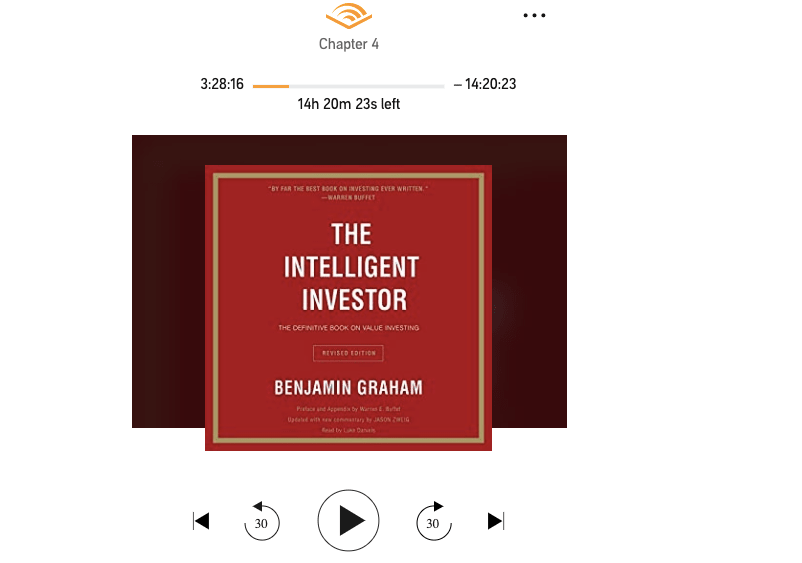 Audible Playback Issues