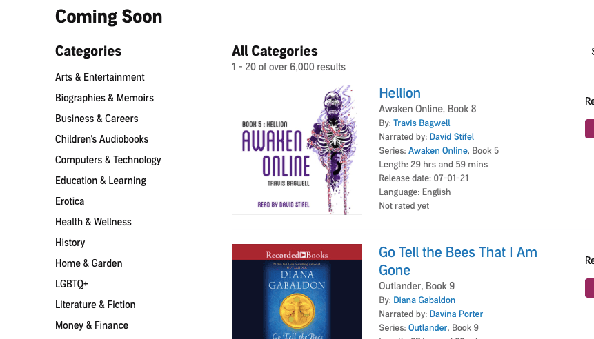 What Time Do Pre-Ordered New Releases Audiobook Become Available On Audible?