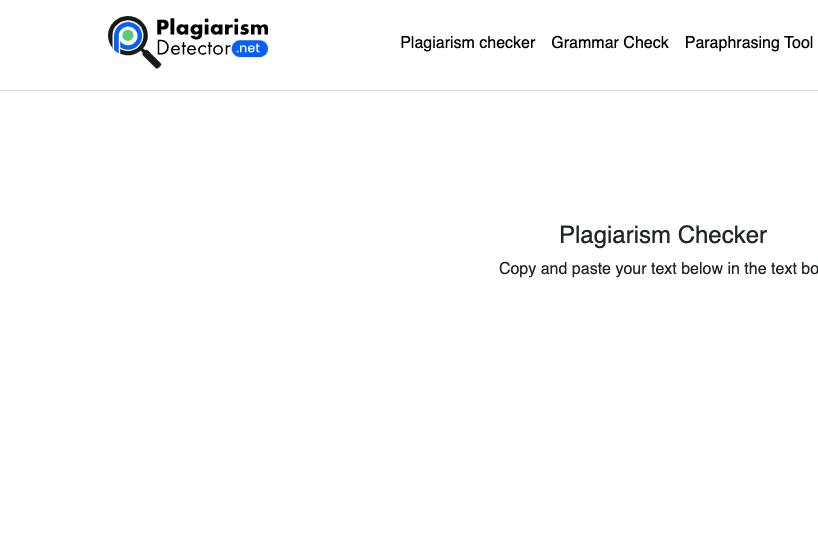 Plagiarismdetector.Net