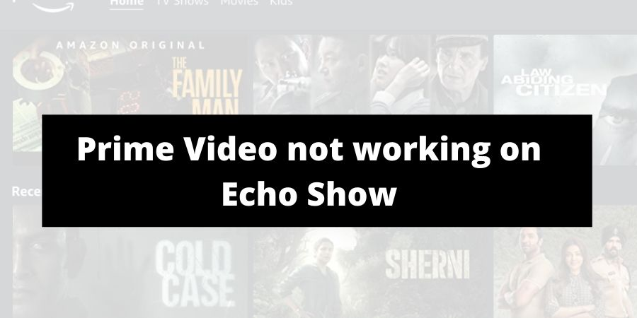 How To Fix If Prime Video Not Working On Echo Show?