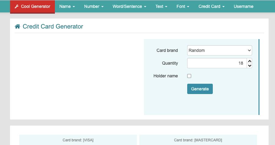 Coolgenerator.com