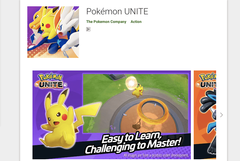 Pokémon UNITE For PC