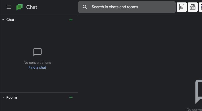 Dark Mode For Google Chat
