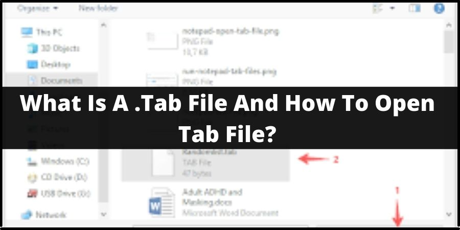 What Is A .Tab File